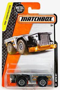 2016 Matchbox #48 MTN XT™ GUNMETAL / ORANGE / TOYBOX CONSTRUCTION / MOC