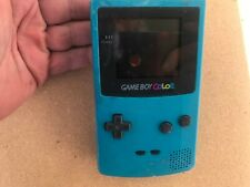 GameBoy Color w/ Malibu Beach VBall game^tested-battery cover missing