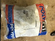 10 X 22mm Equal Tee White Push Fit Polypipe Fit 222 Sealed Bag
