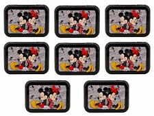 Mickey and Minnie Travel Tin Series (8 pack, 30 Cotton Swabs each) Collectible,
