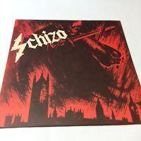 Superb Rare Schizo Main Frame Collapse 1st Vinyl LP EX+/EX+ Looks Hardly Played