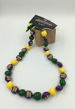 Marci Gras Go Nuts Kukui Nut Lei 18'' 30-Nut Necklace