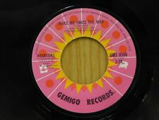 Notations 45 Make Me Twice The Man bw Since You've Been Gone - Gemigo VG++