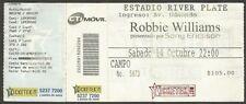 Argentina Robbie Williams Concert Ticket Stub 2006