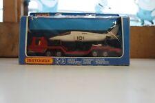 MATCHBOX Superkings K-13 AIRCRAFT TRANSPORTER - boxed / Vintage SH15
