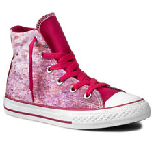 VINTAGE 2013 CONVERSE JUNIOR/'S CT PARTY HI 640509F PARADISE PINK msrp: $37