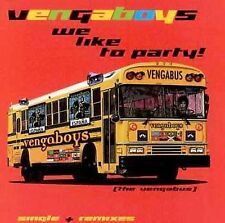 Vengaboys : We Like to Party CD
