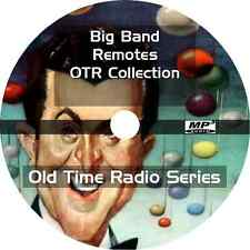 * Big Band Remotes Remote (Otr) Old Time Radio Shows * 183 Episodes on Mp3 Dvd *