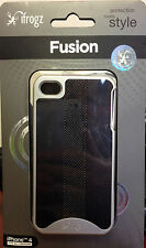 New iFrogz Fusion case Executive for iPhone 4 & 4S Black/silver IP4GPH-BLK/SLV