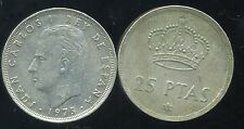 ESPAGNE  25 pesetas 1975 ( 78 )