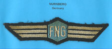 Germany Nurnberg Airport Service Wings Patch