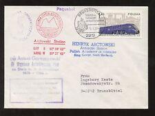 ANTARCTIC POLAND SOUTH SHETLAND 1980 KING GEORGE...SCIENCE + PAQUEBOT