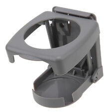 Auto Truck Interior Folding Drink Cup Bottle Holder Stand Mount Grey Universal