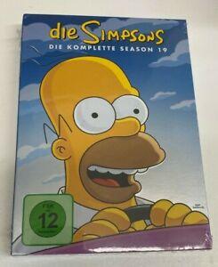DVD TV-Serie Die Simpsons - Die komplette Season 19 Staffel Neunzehn