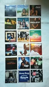 Lot de 15 CD single Rap / soul / Funky