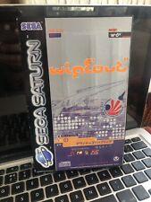 Wipeout Sega Saturn 🪐 PAL Complete