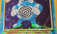 One of a kind Poliwrath  -  MINT - Holo Pokemon Card - Base Set 2