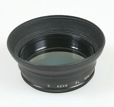 55MM RUBBER LENS HOOD W/POLARIZING FILTER