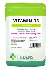 Vitamin D3 5000IU 150 Tablets Bones Lindens