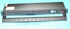 "APC AP7921 16A Amp Switched Power Distribution Unit PDU - 19"" 1U Rack Mount C19"