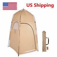 Portable Outdoor Pop Up Tent Camping Shower Toilet Changing Room X4M7