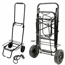 TROLLEY FOLDING SACK TRUCK LUGGAGE SUITCASE CAMPING FESTIVAL WAREHOUSE CART