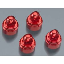 Traxxas Stampede 2wd Monster Truck TRA3767X Alum. Shock Caps, Red (4): Fits All