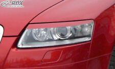 RDX Scheinwerferblenden schwarz matt für Audi A6 4F bis 09/2008