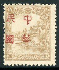 China 1937 Manchukuo Harbin 5 Fen Local Overprint MNH K292