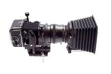 Hasselblad flexbody + planar CF 100mm 1:3,5 t * + revista a12 6x6 + compendio CF