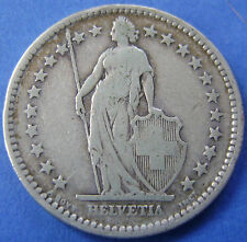 Zwitserland - Switzerland - 2 francs 1886 B - KM# 21