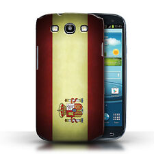 STUFF4 Case/Cover for Samsung Galaxy S3/SIII/Flags/Spain/Spanish