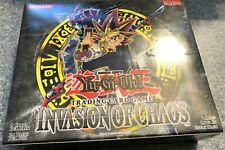 YGO! - Factory sealed Unlimited ed. English Invasion of Chaos booster box