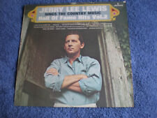 JERRY LEE LEWIS - COUNTRY MUSIC HALL OF FAME VOL.2 - 1969 MERCURY LABEL LP - EXC