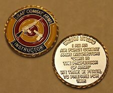 COMBAT ARMS INSTRUCTOR CATM Color Version Air Force Challenge Coin