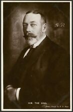 British Royalty - His Majesty King George V - Real Photo Postcard
