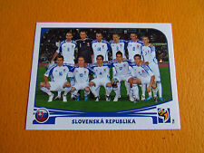 467 EQUIPE SLOVAQUIE SLOVENSKO PANINI FOOTBALL FIFA WORLD CUP 2010 COUPE MONDE