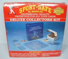 Baseball Card Collecting Starter Kit Sport-Safe By Marvlee Deluxe Collectors Kit