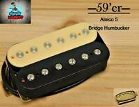 G.M. 59'er Alnico 5 Zebra Humbucker Bridge (52mm) (4-wire) for Gibson Epiphone®