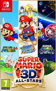 Super Mario 3D All-Stars - Jeu Nintendo Switch - Lire description