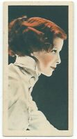 1934 Godfrey Phillips Film Stars Card - #6 Katharine Hepburn