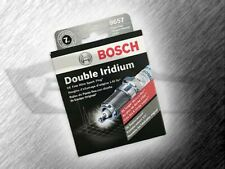 BOSCH 9657 DOUBLE IRIDIUM SPARK PLUGS - SET OF 4