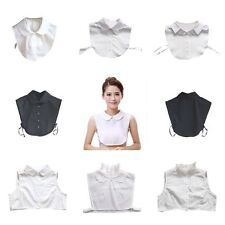 Lady Detachable Peter Pan Lapel Blouse Fake False Collar Choker Necklace 14Type