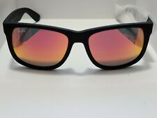BRAND NEW Ray-Ban RB4165 Justin 622/6Q Non-Polarized Red Mirror Lenses