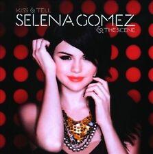 Kiss & Tell by Selena Gomez/Selena Gomez & the Scene (CD, 2009, Hollywood)