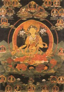 Postkarte - Asien  Green Tara with her twenty-one Main Emanations  Nepal