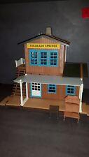 Playmobil 3770 Colorado Springs Westernhaus Bahnhof  mit Tür und Fenster