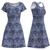 Haunted Mansion Wallpaper Sleeveless & Short Sleeve Dress Size XS-5XL Plus