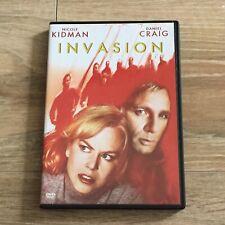 Invasion Nicole Kidman Daniel Craig Science Fiction Horror Thriller 2007 DVD