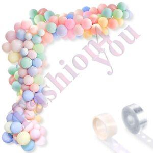 102pcs Balloon Garland Kit Arch Pastel Balloons for Birthday Wedding Baby Shower